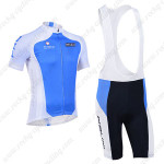 2013 Team NALINI Pro Cycling Bib Kit Blue White