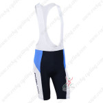 2013 Team NALINI Pro Cycling Bib Shorts Blue White