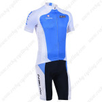 2013 Team NALINI Pro Cycling Kit Blue White
