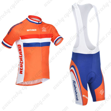 2013 Team NEDERLAND Riding Outfit Bicycle Jersey and Padded Bib ... d8b5842c7