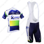 2013 Team ORICA GreenEDGE Cycling Bib Kit Blue