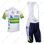 2013 Team ORICA GreenEDGE Cycling Bib Kit White