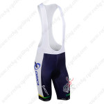2013 Team ORICA GreenEDGE Cycling Bib Shorts Blue