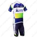 2013 Team ORICA GreenEDGE Cycling Kit Blue
