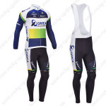 2013 Team ORICA GreenEDGE Cycling Long Bib Kit Blue