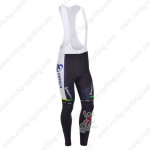 2013 Team ORICA GreenEDGE Cycling Long Bib Pants Blue