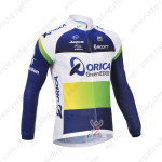 2013 Team ORICA GreenEDGE Cycling Long Jersey Blue Green
