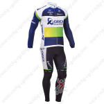 2013 Team ORICA GreenEDGE Cycling Long Kit Blue