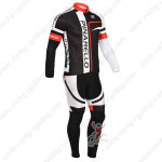 2013 Team PINARELLO Cycling Kit Black Red