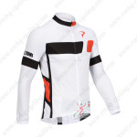 2013 Team PINARELLO Cycling Long Jersey White