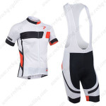 2013 Team Pinarello Cycling Bib Kit White