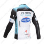 2013 Team QUICK STEP Bicycle Long Jersey Blue White