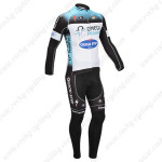 2013 Team QUICK STEP Bicycle Long Kit Blue White