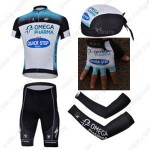 2013 Team QUICK STEP Cycling Set Jersey and Shorts+Bandana+Gloves+Arm Sleeves