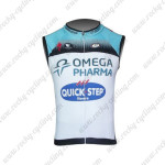 2013 Team QUICK STEP Pro Cycling Sleeveless Jersey Maillot