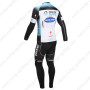 2013 Team QUICK STEP Riding Long Kit Blue White