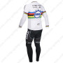 2013 Team QUICK STEP UCI Riding Long Kit White