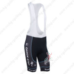 2013 Team Quick Step Cycle Bib Shorts