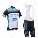2013 Team Quick Step Cycling Bib Kits Blue White