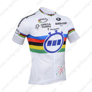 2013 Team Quick Step UCI Cycle Jersey White