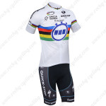 2013 Team Quick Step UCI Cycling Kit White