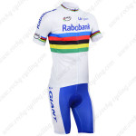 2013 Team RABOBANK UCI Bike Kit White