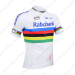 2013 Team RABOBANK UCI Cycling White Jersey