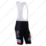 2013 Team RAPHA Cycling Bib Shorts Black