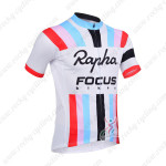 2013 Team RAPHA Cycling Short Jersey White