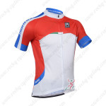 2013 Team SANTINI Cycling Jersey Red White