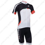 2013 Team SANTINI Cycling Kit Black White