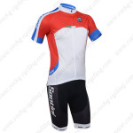 2013 Team SANTINI Cycling Kit Red White