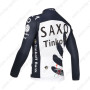 2013 Team SAXO BANK Bicycle Long Jersey Dark Blue