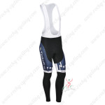 2013 Team SAXO BANK Cycling Long Bib Pants Dark Blue
