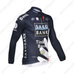 2013 Team SAXO BANK Cycling Long Jersey Dark Blue