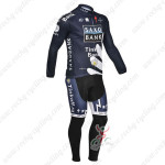 2013 Team SAXO BANK Cycling Long Kit Dark Blue