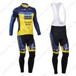 2013 Team SAXO BANK Pro Cycling Long Bib Kit2013 Team SAXO BANK Pro Cycling Long Bib Kit