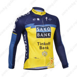 2013 Team SAXO BANK Pro Cycling Long Sleeve Jersey