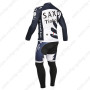2013 Team SAXO BANK Riding Long Kit Dark Blue