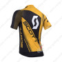 2013 Team SCOTT Bicycle Jersey Yellow Black