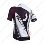 2013 Team SCOTT Bike Jersey White Black Purple