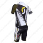 2013 Team SCOTT Bike Kit White Black Yellow2013 Team SCOTT Bike Kit White Black Yellow