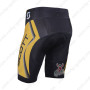 2013 Team SCOTT Bike Shorts Yellow Black