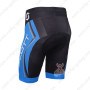 2013 Team SCOTT Cycle Shorts Black Blue