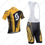 2013 Team SCOTT Cycling Bib Kit Yellow Black