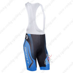 2013 Team SCOTT Cycling Bib Shorts Blue