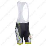 2013 Team SCOTT Cycling Bib Shorts Green