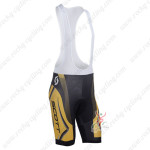 2013 Team SCOTT Cycling Bib Shorts Yellow Black