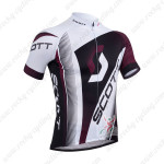 2013 Team SCOTT Cycling Jersey White Black Purple