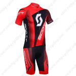 2013 Team SCOTT Cycling Kit Red